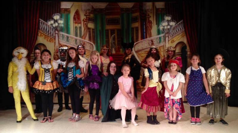 Clay County Tiger Troupe/Gusto Theatre Summer Camp Cast of Sleeping Beauty in th